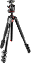 Manfrotto MK190XPRO4-BHQ2 - Aluminium-Stativ mit 4 Beinsegmenten + XPRO Kugelkopf - Schwarz