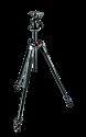 Manfrotto 290 Xtra Kit, Alu mit 3 Segmenten, Kugelkopf, schwarz