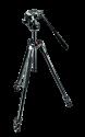 Manfrotto Kit 290 XTRA con testa fluida 2 vie, nero