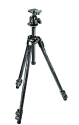 Manfrotto 290 Xtra Kit, Carbon-Stativ mit 3 Segmenten, Kugelkopf