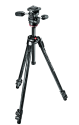 Manfrotto Kit Trepied 290 Xtra Carbon, 3 Sec. avec Rotule 3D, noir