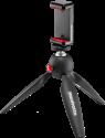 Manfrotto PIXI Smart - Mini-Stativ - Mit Smartphone Halterung - Schwarz