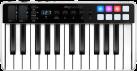 IK MULTIMEDIA iRig Keys I/O 25 - Clavier - 25 touches - Noir/Blanc