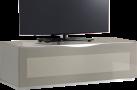 MUNARI MU-MO106 - Meuble TV - Éclairage LED - Gris
