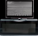 MUNARI MU-MO106 - TV-Möbel - Empfohlene Bildschirmgrösse: 37'' - 42'' - Schwarz