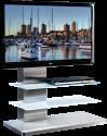MUNARI MU-SY342 - Meuble TV - Dimension d'écran conseillée : 32 - 50 - Blanc