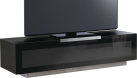 MUNARI MU-BG422 - Meuble TV - Dimension d'écran conseillée : - 60 - Noir