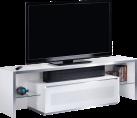 MUNARI MU-GE165 - TV-Möbel - Empfohlene Bildschirmgrösse: 37 - 65 - Weiss