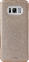 PURO Cover Shine - Coque - Pour Samsung Galaxy S8 - Or