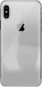 PURO Verge Crystal Cover - Pour Apple Iphone X - Argent