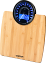 FERRARI G30017 Bambus - Digitale Personenwaage - Braun