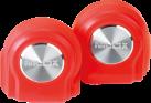 Nilox Drops - Bluetooth Kopfhörer - mit Mikrofon - rot