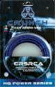 CRUNCH CR5RCA  - Stereo Audio Kabel, Blau