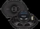 CRUNCH DSX572 - Haut-parleurs - 13 x 18 cm - Noir