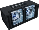 HIFONICS BXi12DUAL - 2 x 30 cm Subwoofer - 800 W RMS - Schwarz
