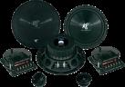 HIFONICS Titan TS6.2C - Lautsprecher - 125 W RMS - Schwarz