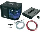 HIFONICS MERCURY MBP1000.4 - Komplett-Paket - Schwarz