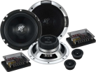 HIFONICS Triton TR6.2C - Lautsprecher - 100 W RMS - Schwarz