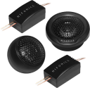 HIFONICS VX6.2T - Haut-parleur - 100 W RMS - Noir