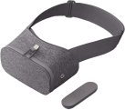 Google Daydream View - VR Brille - Komfortables Stoffdesign - Grau