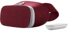 Google Daydream View - VR Brille - Komfortables Stoffdesign - Rot