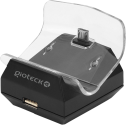 gioteck Dual Charge Station - Für PS4 - Schwarz