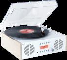 ion Digital LP - Plattenspieler - Geschwindigkeit 33⅓, 45, 78 rpm - Holz
