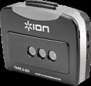 ION Tape 2 GO - Convertitore di Audiocassette - nero/grigio