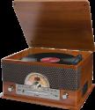 ion Superior LP - Stereo Musikanlage - 7-in-1 - Braun