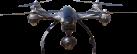YUNEEC TYPHOON Q500 4K - Quadrocopter - Ultra High Definition (UHD) Videoauflösung - Schwarz