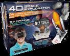 ReTrak 4D Space Exploration - Utopia 360° VR Headset + 26 AR cartes - Distance de l'oeil - Noir