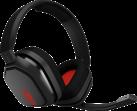 astro A10 - Headset - Per PC, MAC - Grigio/Rosso