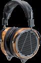 AUDEZE LCD-2 - Casque audio haut de gamme -  bois de palissandre - serre-tête en cuir - noir / brun