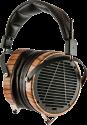 AUDEZE LCD-3 - Casque audio haut de gamme - serre-tête en cuir - noir / brun