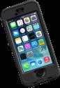 LIFEPROOF NÜÜD für iPhone 5/5s, schwarz