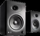 Audioengine A5+ - Regallautsprecherpaar - schwarz