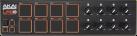 AKAI LPD8 - Laptop Pad Controller - 8 anschlagdynamische Pads - Schwarz