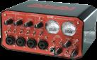 AKAI EIE - Interface USB 2.0 Audio/MIDI - avec Hub USB - Noir/rouge