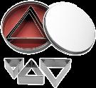 ibili IB-723900 Triangle, set de 6