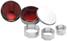 ibili IB-729600 Achteckig, 6er Set