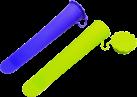 ibili Stampo gelato tipo calippo, set di 2