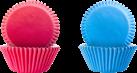 ibili IB-735901 Muffinsförmchen, blau / pink