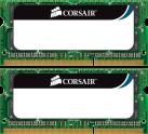 CORSAIR ValueSelect - Arbeitsspeicher - 2x 4 GB (SO-DDR3 SDRAM / 1333 MHz) - Grün/Schwarz