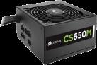 CORSAIR CS650M - Netzgerät - 650 W - Schwarz