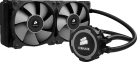 CORSAIR H105 - Refroidisseur liquide pour processeur - Radiateur de 240 mm - Noir