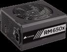CORSAIR RM650x - RMx Series™ - vollmodulares Netzteil  - Mit 650 Watt - Schwarz