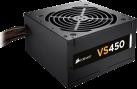 CORSAIR VS450 - Modularnetzteil - 450 W - Schwarz