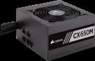 CORSAIR CX650M - ATX-Modularnetzteil der CX Serie™  - 650 Watt - Schwarz
