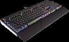 CORSAIR STRAFE RGB Cherry MX Silent - Gaming-Tastatur - DE Layout - USB 2.0 - Schwarz