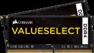 CORSAIR ValueSelect - Mémoire vive - 2x 4 Go (DDR4 / 2133 MHz) - Noir